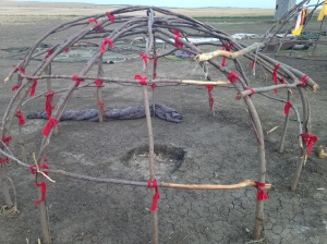 Structure of Sweat Lodge